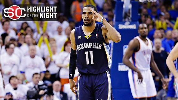 Video - Conley, Grizzlies Even Series