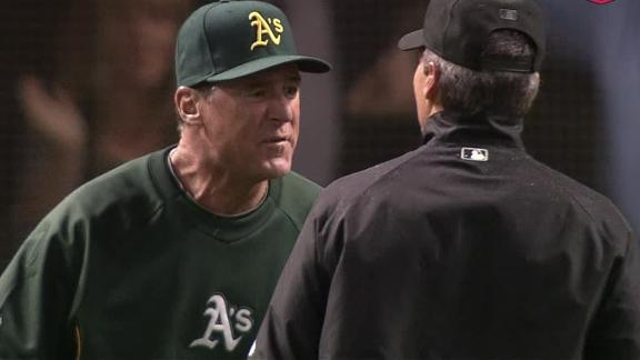 Video - A's Edge Indians After Controversial Call