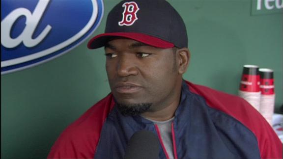 Papi goes 0-for-5 as 27-game hitting streak ends