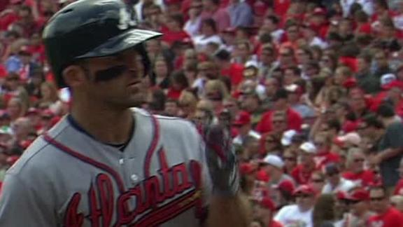 Video - Dan Uggla Homers Twice In Braves Win