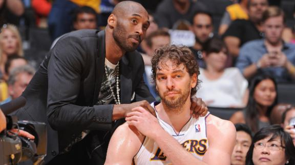 Video - Gasol To Have Procedure On Knees