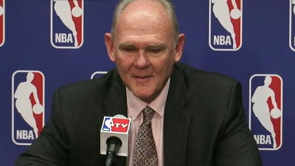 Video - George Karl Grateful For Award