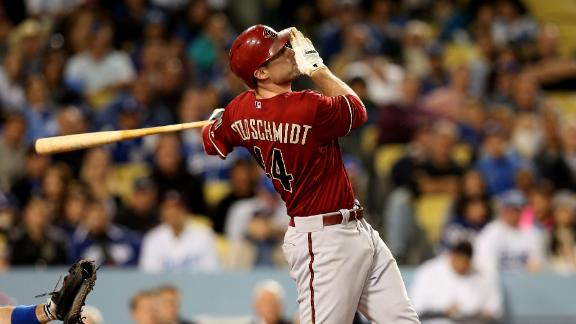 Goldschmidt's heroics lift D-backs again