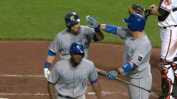 Guthrie, Royals beat Orioles to avoid sweep