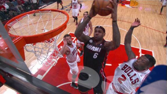 Video - Robinson Blocks LeBron