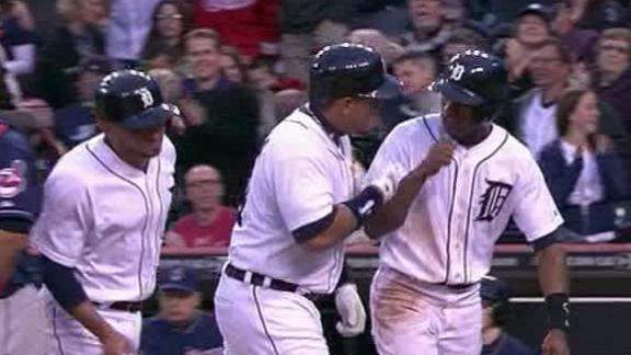 Video - Tigers Snap Indians' Streak