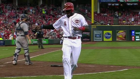 Video - Phillips Lifts Reds Past Brewers