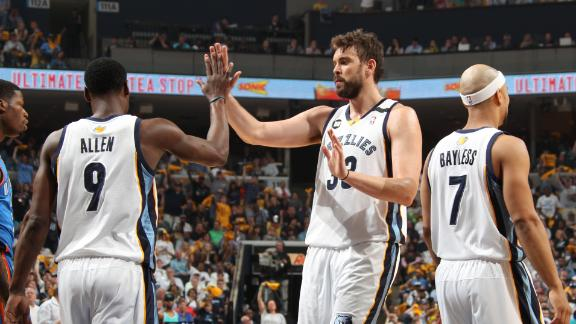 Video - Gasol, Grizzlies Take 2-1 Lead