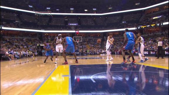 Video - Marc Gasol Bounce Pass