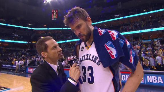 Gasol, Grizzlies outlast Thunder for 2-1 lead
