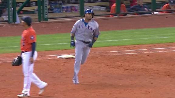 Video - Rangers Use Long Ball To Top Astros
