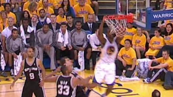 Video - Barnes Soars Past The Spurs