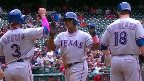 Rangers finish sweep of Astros behind Beltre