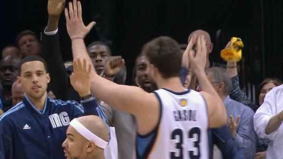 Grizzlies outlast Thunder in OT for 3-1 lead