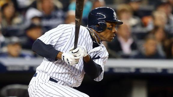 Granderson activated, plays LF vs. Mariners