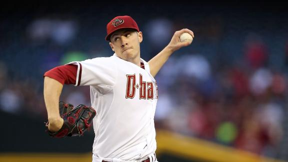 Video - Corbin, D-backs Shut Out Braves