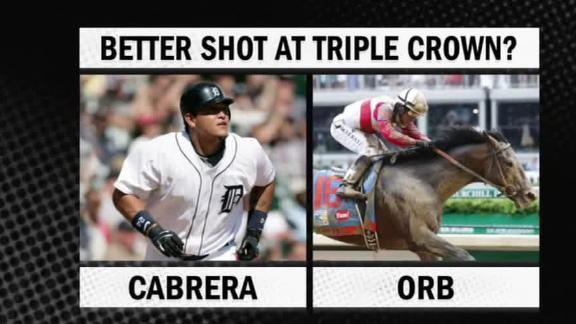 Video - Better Shot At Triple Crown: Cabrera Or Orb?