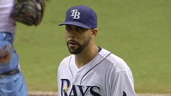 David Price diagnosed with left triceps strain, likely to miss &#