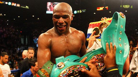Video - Mayweather: Top-Paid American Athlete