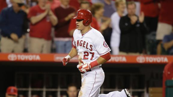 Video - Angels' Big Bats Get Going In Win Over Royals