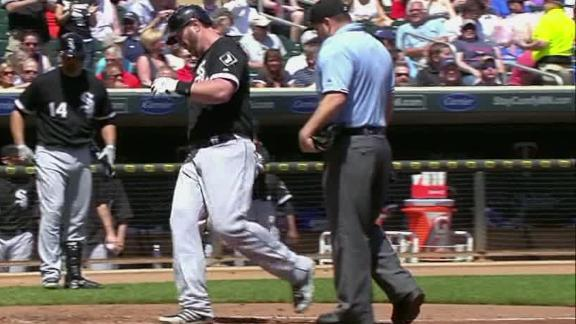 Video - Adam Dunn Powers White Sox Over Twins