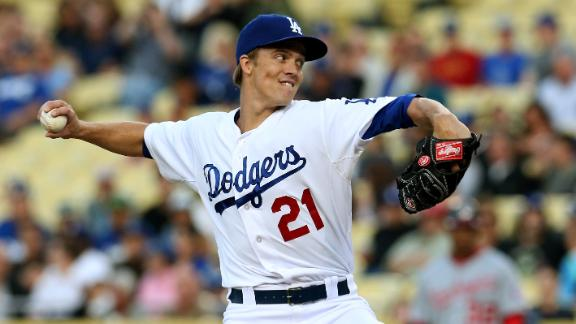 Video - Greinke, Dodgers Stymie Nationals