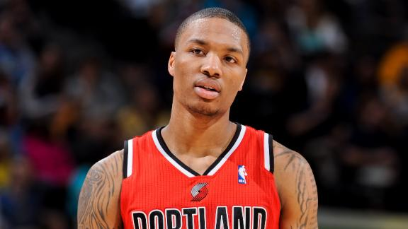 Video - Lillard, Davis On NBA All-Rookie Team