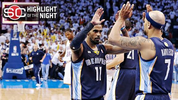 Video - Grizzlies Eliminate Thunder