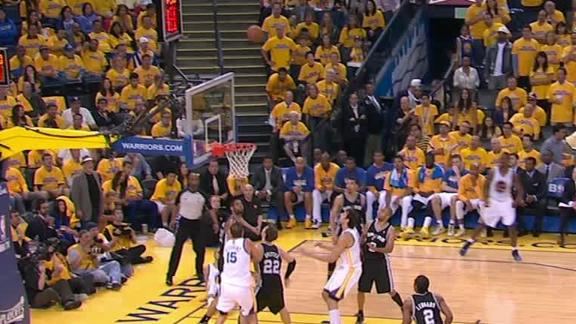 Video - Stephen Curry Hits The Rainbow Floater