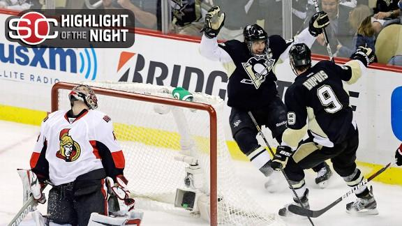 Crosby's Hat Trick Ignites Penguins