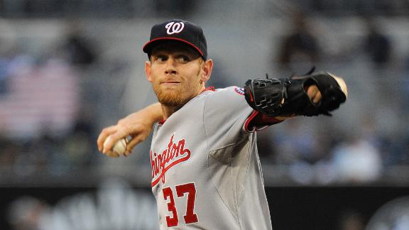 Strasburg's 8 innings lead Nats past Padres