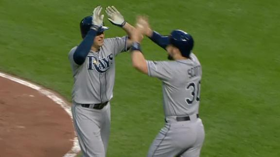 Video - Rays Hang On To Beat Orioles