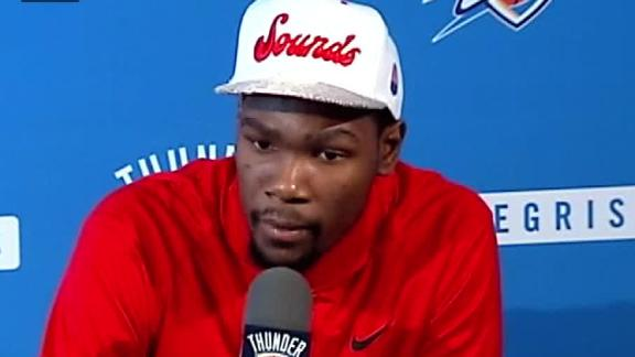 Durant: I Won't Compromise Myself