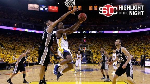 Video - Spurs Eliminate Warriors