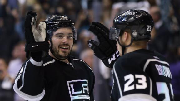 Kings Rally Late For 2-0 Lead