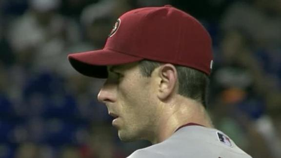 D-backs' McCarthy blanks Marlins on 3 hits