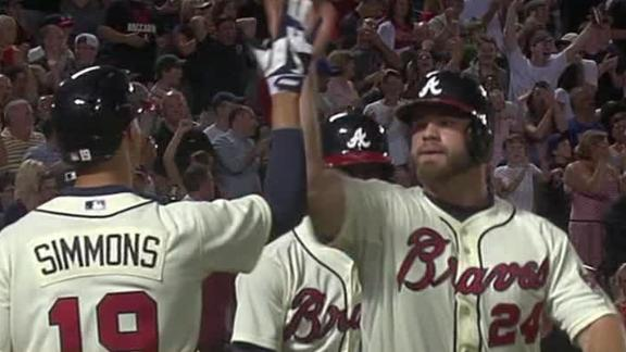 Video - Braves Rally For Late Win