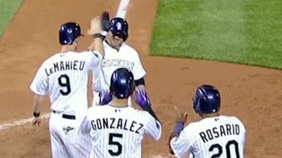 Video - Rockies Squeak By Giants