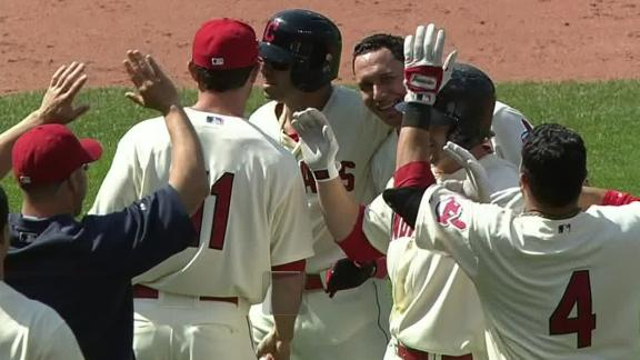 Video - Indians Walk Off Against Mariners