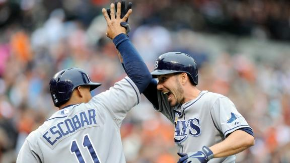 Video - Rays Rally For Six Runs In Ninth