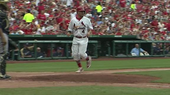 Video - Cardinals Top Lohse, Brewers