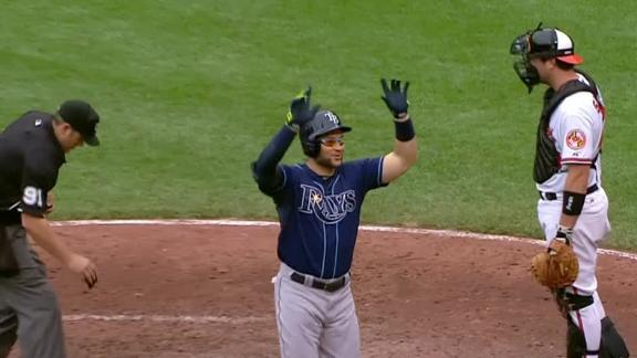 Video - Rays Finish Sweep Of Orioles