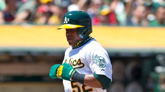 Athletics Rally Past Royals