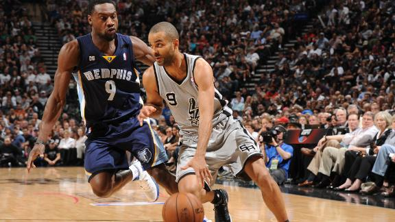 Memphis Grizzlies vs. San Antonio Spurs - Recap - May 19, 2013 - ESPN