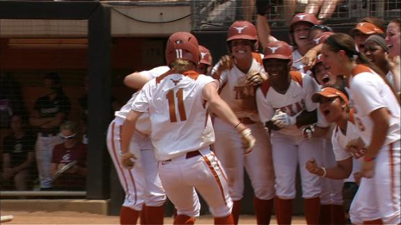 Taylor Thom Lifts Texas To Sweep