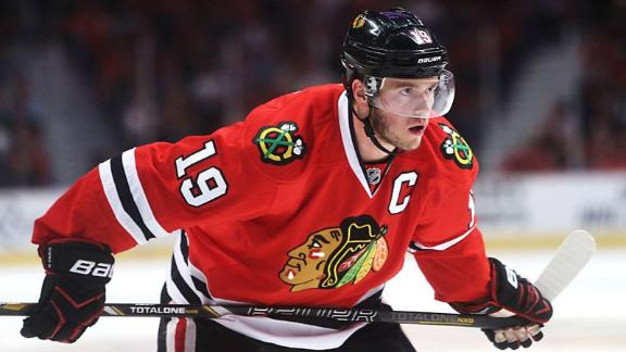 Jonathan Toews previews Game 3