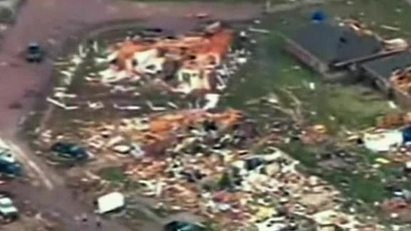 Massive Tornado Hits Outside Oklahoma City