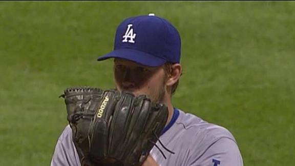 Kemp homers to support Kershaw's 3-hitter