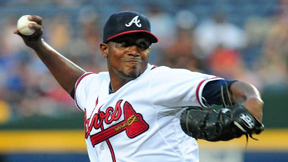 Teheran Guides Braves To Fourth Straight Win
