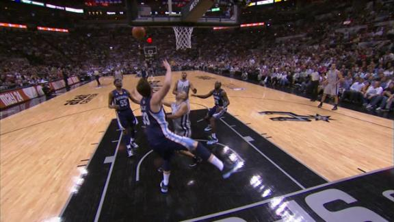 Video - Parker Scores In The Paint